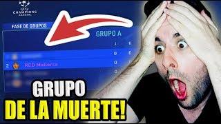 ESTOS SON LOS RIVALES DEL MALLORCA EN LA CHAMPIONS LEAGUE!! FIFA 19 Modo carrera