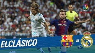 ElClásico: Rakitic vs Modric