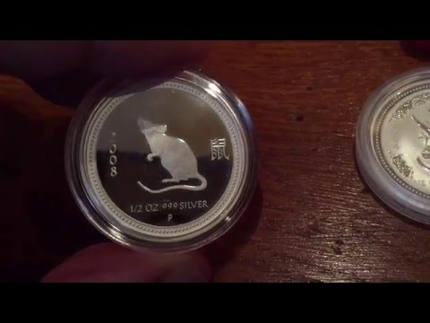 COLLECTION: Silver Lunar 1 0.5oz Proof and Bullion editions and hunting the elusive Tiger!