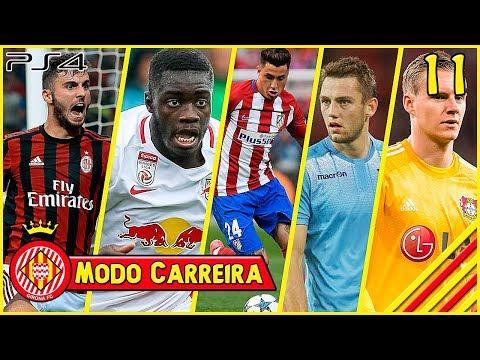 FIFA 18: MODO CARREIRA #11 - NOVAS CONTRATAÇÕES!!