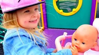 Куклы УГНАЛИ КОЛЯСКУ КУКЛЫ АНАБЕЛЬ БЕБИ БОРН КАТЯ ИСЧЕЗЛА КАТЯ ПРОПАЛА Игры Для Детей про Беби бон