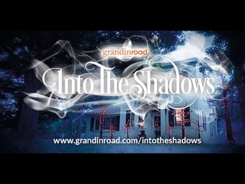 halloween haven into the shadows grandin road youtube - Grandin Road Halloween
