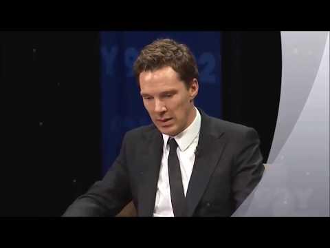 Cumberbatch talks PATRICK MELROSE  snippets of filming  Sherlock Hobbit Star Benedict