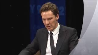 Cumberbatch talks PATRICK MELROSE + snippets of filming - Sherlock Hobbit Star Benedict Avengers