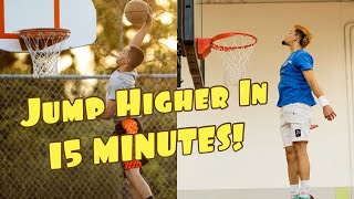Learn Jump Technique To Get Your First Dunk!