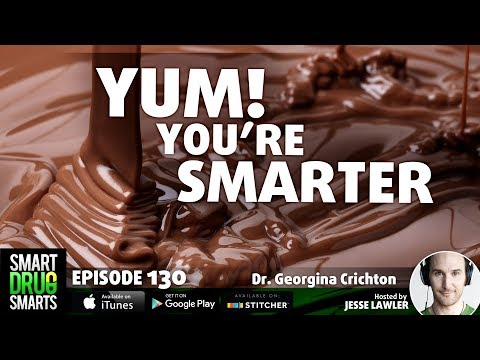 Episode 130-Chocolate and Cognition with Dr. Georgina Crichton