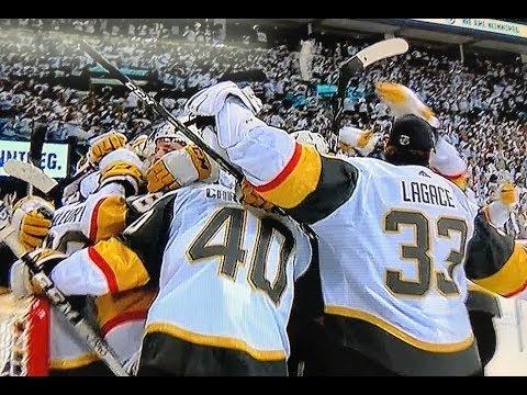Las Vegas Golden Knights Win WCF 2018 Champions Going to Stanley Cup Finals MY THOUGHTS REVIEW