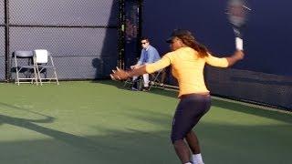 Serena Williams Ultimate Slow Motion Compilation - Forehand - Backhand - Serve - 2013 Cincinnati O