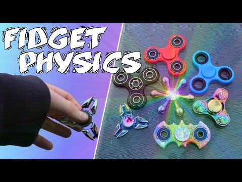 HOW DO FIDGET SPINNERS WORK? | SCIENCE AND SPIN TEST!
