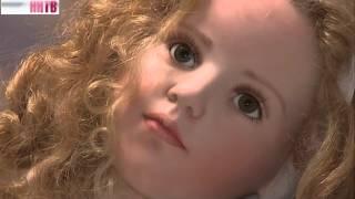 Виставка порцелянових ляльок в Садибі Рукавишниковых