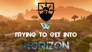 Trying to get into Horizon! (Fortnite Montage #2) #GoBeyond