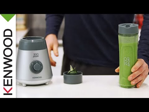 Green Protein Smoothie Recipe | Demonstrated With Kenwood Sport2Go