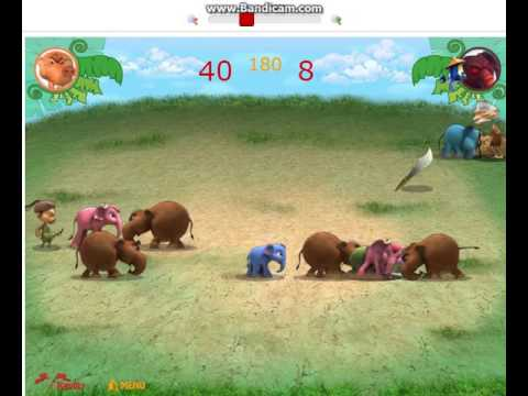 ช้างชน เล่นเกมกับน้องสาว#5 Y8.com