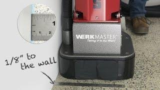 The Boss - WerkMaster - Concrete Prep - Epoxy Removal - Thinset Removal - Rental Machine