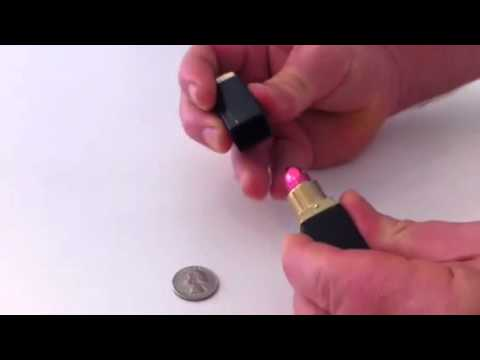 how to make a lipstick pipe