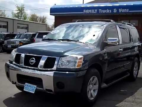 Family Trucks and Vans 2004 Nissan Armada Stock B21122 - YouTube