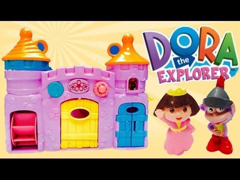 Dora The Explorer and Boots Bathtime Bubble Castle!!