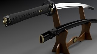 как сделать катану самурайский меч(