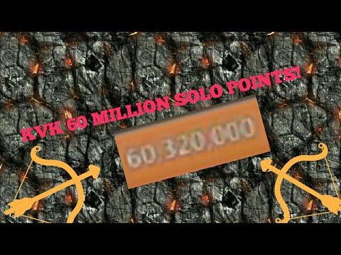 Lords-Mobile | KVK Finnished I Got 60,350,000 SOLO POINTS! & Gem Lodes!