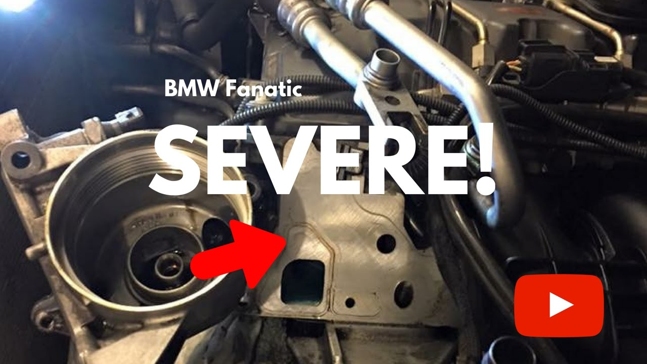 The Most Severe Bmw N54 N55 Engine Gasket Oil Leak Youtube