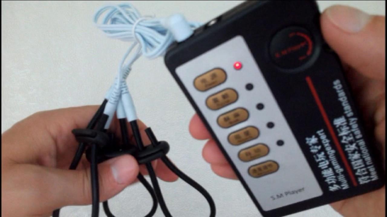 Видео электростимуляции члена 4
