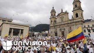 Colombia se moviliza masivamente en rechazo al terrorismo en una emotiva jornada de marchas