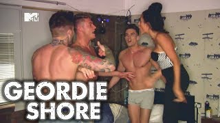 Geordie Shore Season 8 - Topless Fight Club | MTV