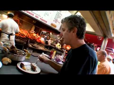 Anthony Bourdain in Uruguay