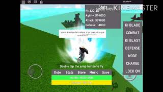 Gameplay random de roblox dragón ball :vvv