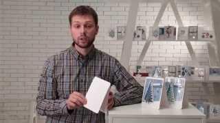 видео Корпоративные новогодние открытки с логотипом изготовление