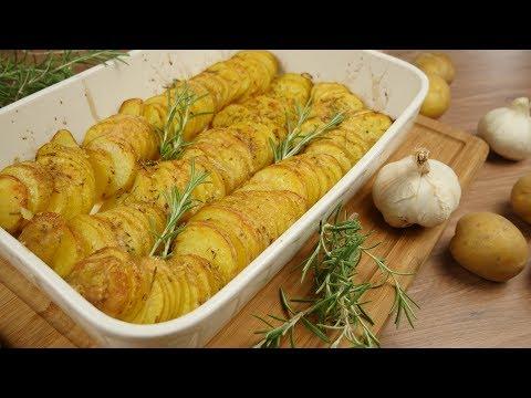 Parmesankartoffeln aus dem Ofen | Ofenkartoffeln mal anders