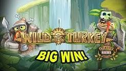 BIG CHAIR WIN on Wild Turkey Slot - £2 Bet