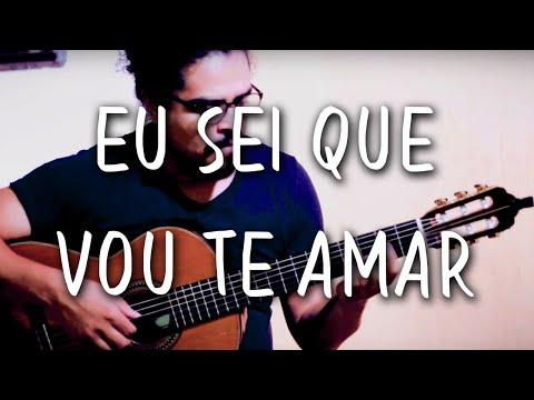 Tom Jobim & Vinícius - EU SEI QUE VOU TE AMAR (Violão Solo Fingerstyle) MPB #20