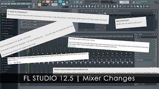 FL Studio 12.5 | Mixer Changes Reversed