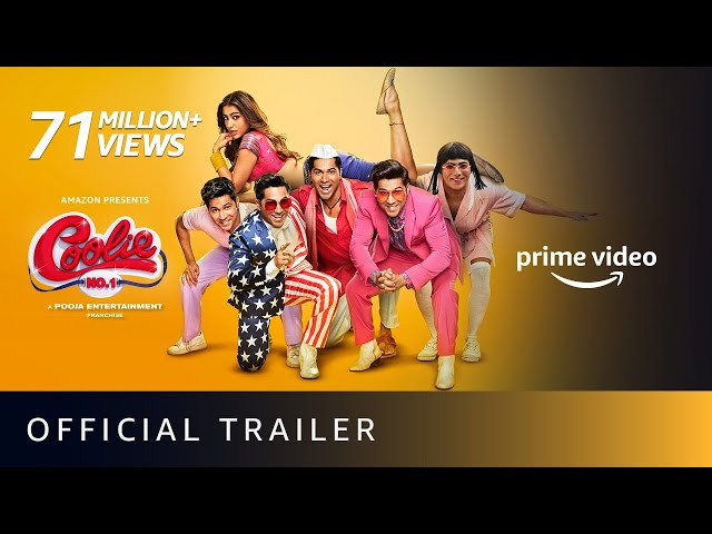 Coolie No. 1 - Official Trailer | Varun Dhawan, Sara Ali Khan | David Dhawan | Amazon Prime Video