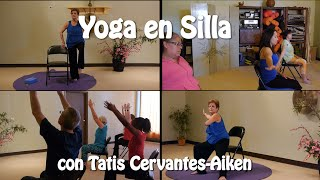 Yoga en Silla con Tatis! Disfruta por una hora de esta clase!