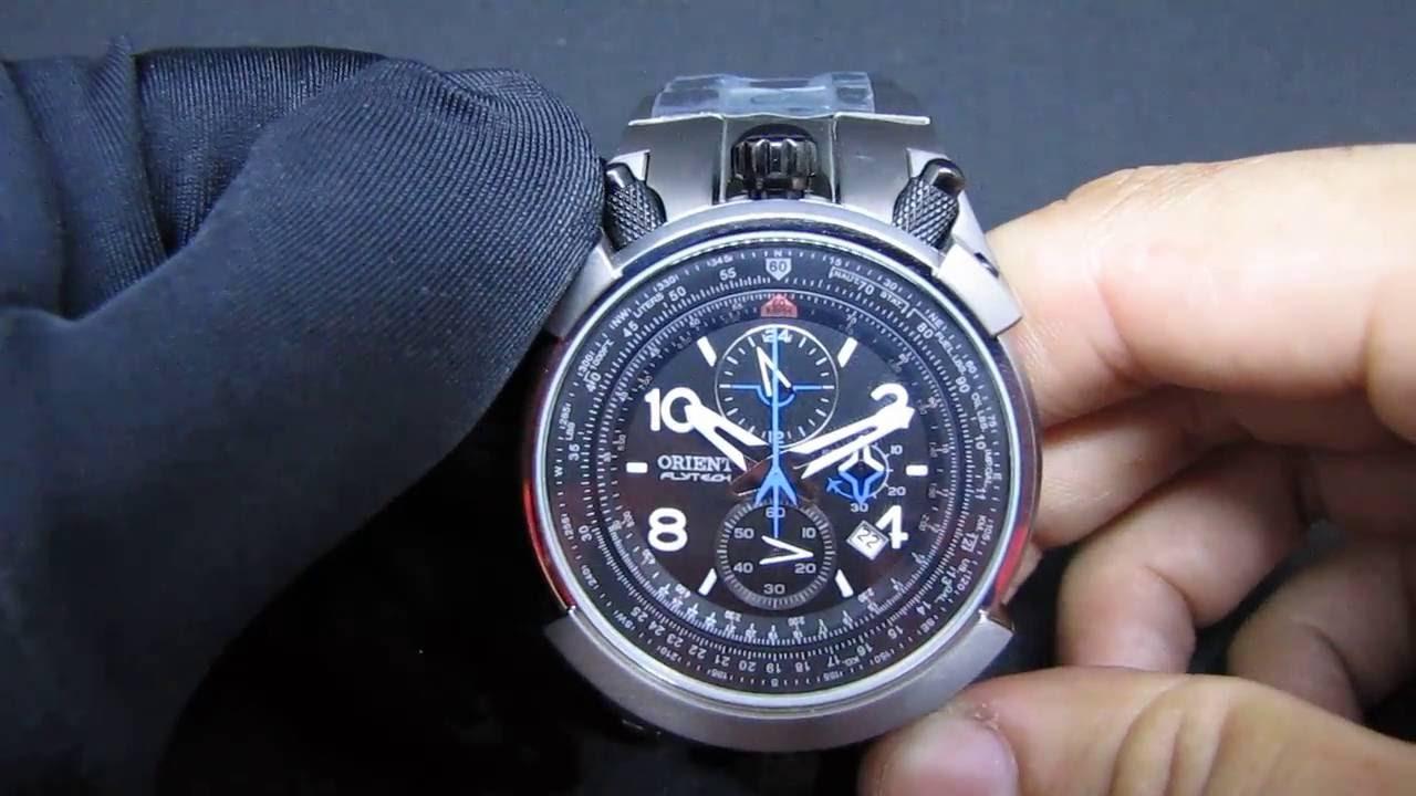 3332be0152c REVIEW  Relógio Orient Flytech Titanium MBTTC008 Relógio Masculino ...