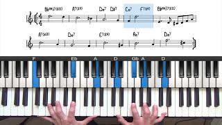 Blue in Green Tutorial Lesson | PianoGroove.com