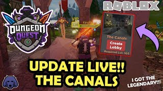 🔴 DUNGEON QUEST ⚔ DIE CANALS GIVEAWAYS + CARRYS!! | ROBLOX LIVE! *ROAD ZU 2K SUBS* !dq