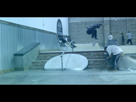A FILMER NOLLIE HEELFLIPS STAIR SET !!!