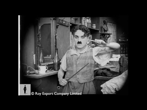 Charlie Chaplin - The Professor (Rare unreleased film)