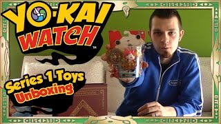 YoKai Watch Toys  Unboxing ALL of Series 1 + Giveaway!
