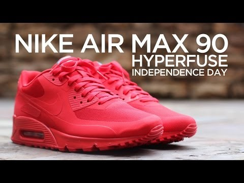 promo code 7bae2 1d5a7 Closer Look Nike Air Max 90 Hyperfuse -