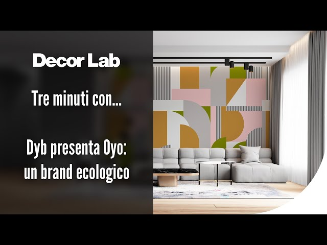Dyb presenta Oyo: un brand ecologico