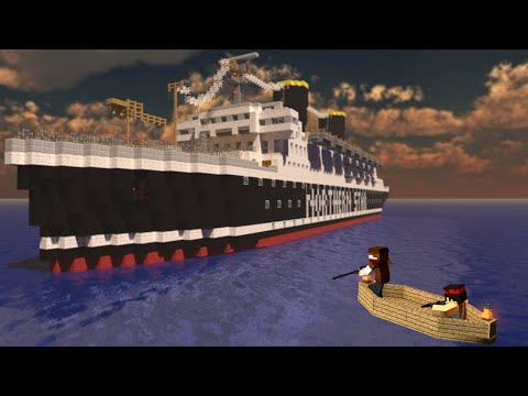 ЗАХВАТ КОРАБЛЯ   Minecraft Стрим + Розыгрыш