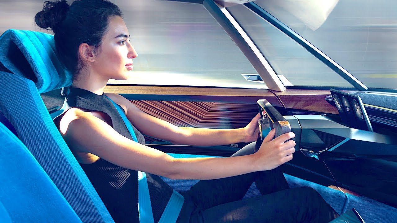 Peugeot Elegend Interior Video Peugeot Electric Car Interior Self