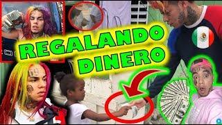 6IX9INE REGALANDO DINERO EN MÉXICO - TEKASHI69