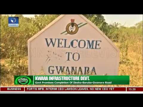 Kwara Govt Promises Completion Of Ilesha Baruba Gwanara Road