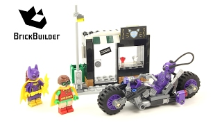 Lego Batman Moto Felina Catwoman 70902 Catwoman Catcycle Chase - Lego Speed Build
