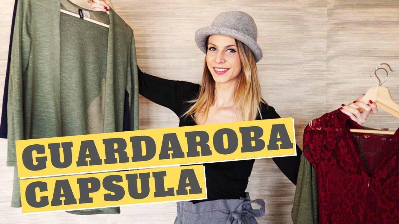Organizzazione dell'armadio con il GUARDAROBA CAPSULA - YouTube